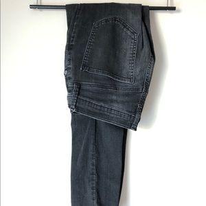 Women's GAP jeans, black